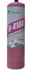 Баллон (0,65 кг) с фреоном mini R – 410A весом 1 кг